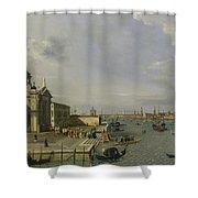 Santa Maria Della Salute - Venice  Shower Curtain