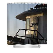 Santa Marie Sf Shower Curtain