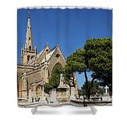 Santa Marija Addolorata Chapel  Shower Curtain