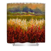 Santa Rosa Valley Shower Curtain by Shannon Grissom