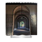 Santa Sabina Shower Curtain