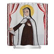 Santa Teresa De Avila - St. Teresa Of Avila - Aotda Shower Curtain