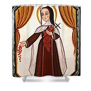 Santa Teresa De Lisieux - St. Therese Of Lisieux - Aotel Shower Curtain
