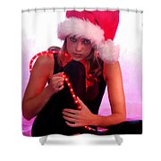 Santas Helper Shower Curtain