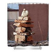 Sante Fe Rocks Shower Curtain