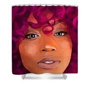Santia New Color Shower Curtain