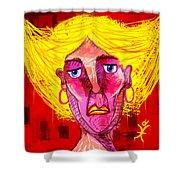 Santia Sour Face 1060 Shower Curtain