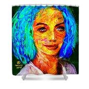 Santia True Colors 673 Shower Curtain