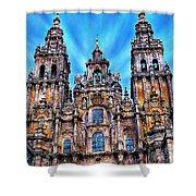 Santiago De Compostela Cathedral Shower Curtain