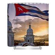 Santiago De Cuba Dusk Shower Curtain