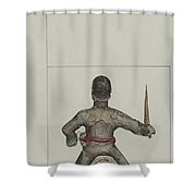 Santo Bulto (santiago Or San Diego) Shower Curtain