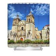 Santo Domingo Church View Shower Curtain