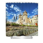 Santo Domingo Church Wide Angle Shower Curtain
