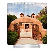 Santo Nino De Atocha Chimayo New Mexico Shower Curtain