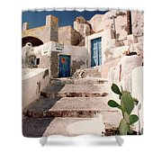 Santorini Entryway Shower Curtain
