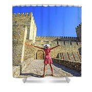 Sao Jorge Castle Tourist Shower Curtain