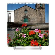 Sao Miguel Arcanjo Church Shower Curtain