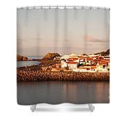 Sao Roque At Sunrise Shower Curtain