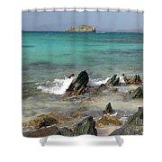 Sapphire Beach Shower Curtain