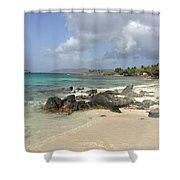 Sapphire Beach St. Thomas Shower Curtain
