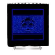 Sapphire Infinity Shower Curtain