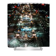 Sapporo Ice Festival Shower Curtain