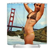 Sarah 064 Shower Curtain