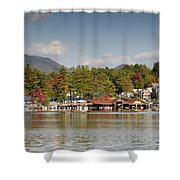 Saranac Lake Shower Curtain