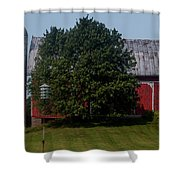 Saranac Michigan Shower Curtain
