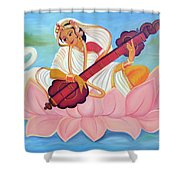 Saraswati Shower Curtain