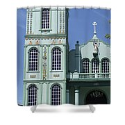Sarchi Church 3 Shower Curtain