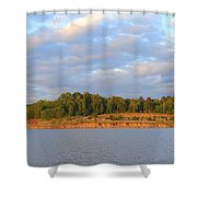 Sardis Lake Shower Curtain