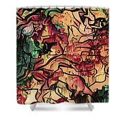 Sargam Abstract A1 Shower Curtain