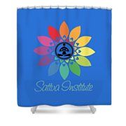 Sattva Institute Shower Curtain