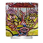 Saturday Afternoon Delight  Shower Curtain