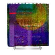 Saturn Lavender Shower Curtain