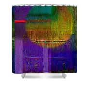 Saturn Lavender Shower Curtain