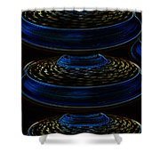 Saucers Shower Curtain