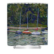 Saugeen Sails Shower Curtain