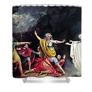 Saul & Witch Of Endor Shower Curtain