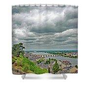 Saumur, Chateau, Loire, France Shower Curtain