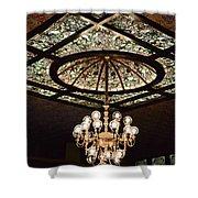 Savannah Antique Ceiling Shower Curtain
