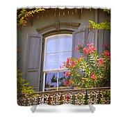 Savannah Balconies II Shower Curtain