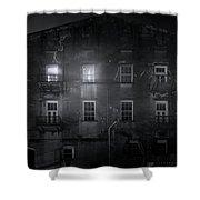 Savannah By Night Shower Curtain