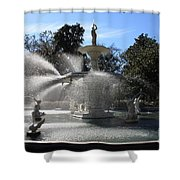 Savannah Fountain Shower Curtain