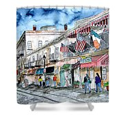 Savannah Georgia River Street Shower Curtain