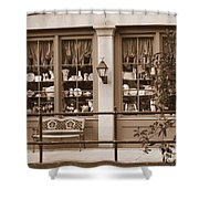 Savannah Sepia - Antique Shop Shower Curtain