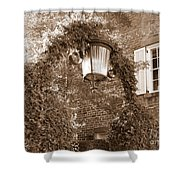 Savannah Sepia - Lovely Lamp Shower Curtain