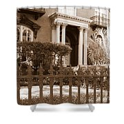 Savannah Sepia - Mercer House Shower Curtain