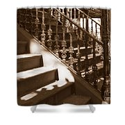 Savannah Sepia - Stairs Shower Curtain